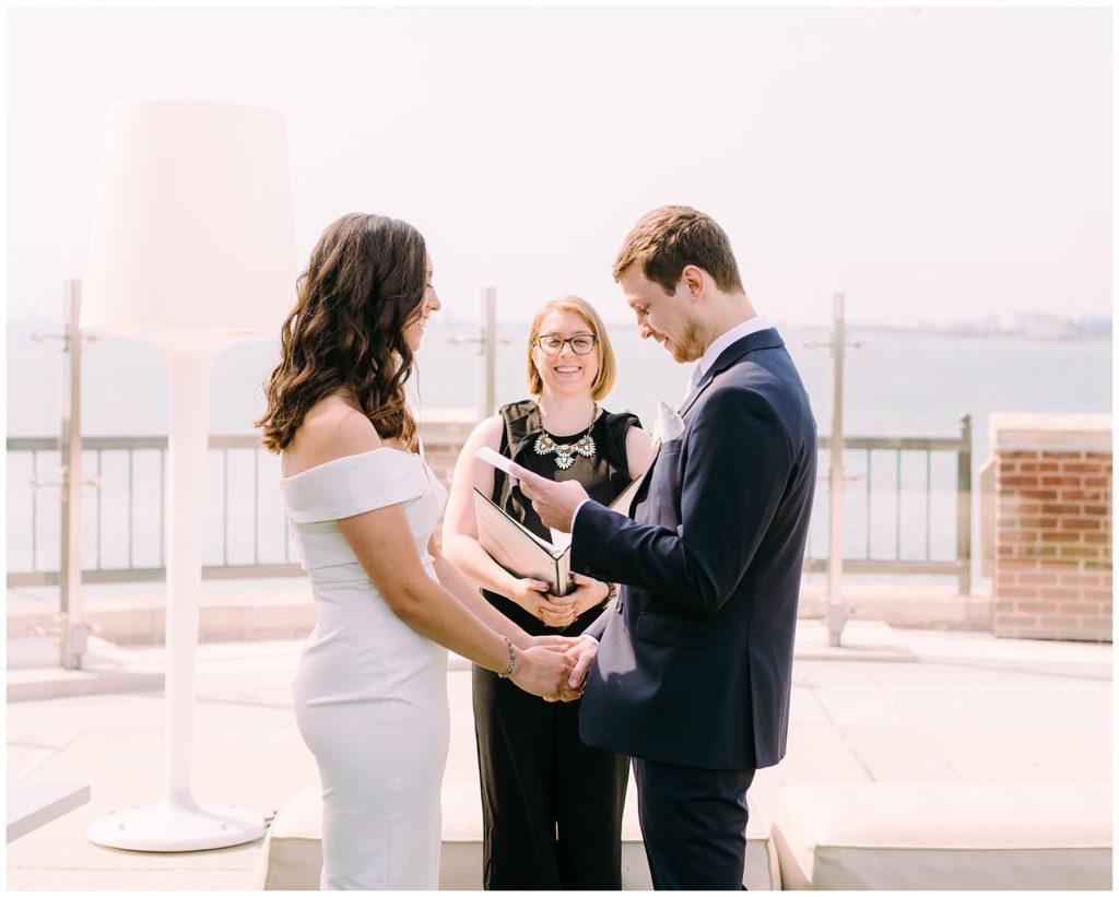 navy pier elopement
