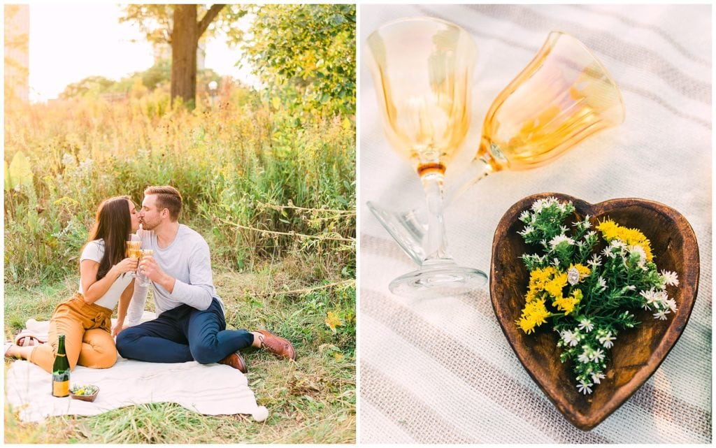 personalize your engagement photos