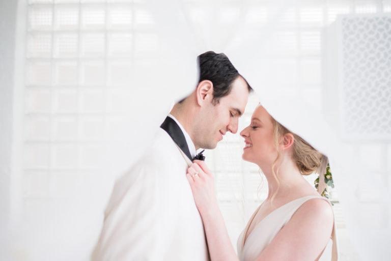 Minimalist Wedding Editorial | Historic Loft Wedding Venue in Chicago, IL